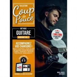 Denis Roux/Michel Ghuzel - Coup de Pouce Guitare Acoustique Volume 1 - Recueil + Enregistrement(s) en ligne