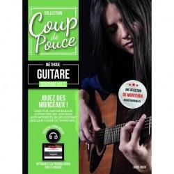 Denis Roux - Coup de Pouce Guitare Acoustique Volume 2 - Recueil + Enregistrement(s) en ligne