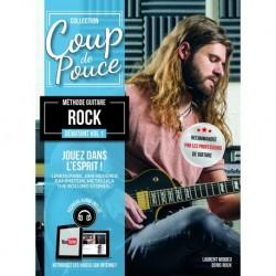 Denis Roux - Coup De Pouce Méthode Guitar Rock Débutant Vol. 1 - Recueil + Enregistrement(s) en ligne