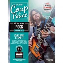 Denis Roux - Coup De Pouce Guitare Rock Vol 2 - Recueil + Enregistrement(s) en ligne