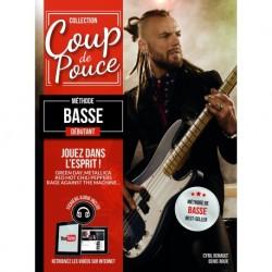 Denis Roux - Coup De Pouce Debutant Basse Vol. 1 - Recueil + Enregistrement(s) en ligne