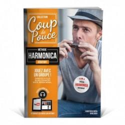 Denis Roux - Coup De Pouce Debutant Harmonica - Recueil + Enregistrement(s) en ligne