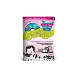 Denis Roux - Coup De Pouce Clavier volume 1 (ancienne édition) - Recueil + CD + Liens Youtube