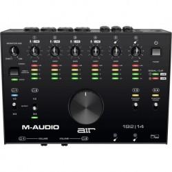 M-Audio AIR192X14 - Interface Son USB-C et USB-A 8 entrées 4 sorties + MIDI