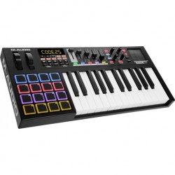 M-Audio CODE25-BK - Clavier maitre 25 notes usb avec 16 pads