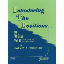 Harvey S. Whistler - Introducing the Positions for Viola Vol. 2 - Recueil