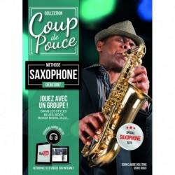 Denis Roux - Coup de pouce Débutant Saxophone - Recueil + Enregistrement(s) en ligne
