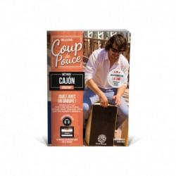 Denis Roux/Charly Menasse - Coup de Pouce : Débutant Cajon - Recueil + Enregistrement(s) en ligne