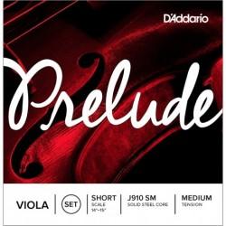 D'Addario J910 SM - Jeu de cordes pour violon alto 33 à 35,5 cm tension medium