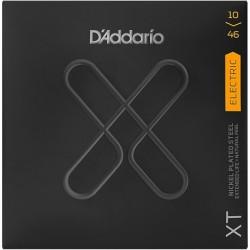 D'Addario XTE1046 - Jeu de cordes XT 10-46 pour guitare électrique