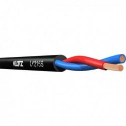 Klotz - Câble haut-parleur 2 x 1,5mm² rond twinaxial au mètre