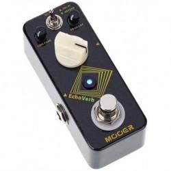 Mooer ECHOVERB - Pédale délai numérique et réverb avec fonction tap tempo