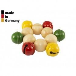 Rohema 61580F - Bracelet - 6 Grelots Colorés - 1+