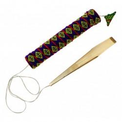 Roots GUIM38 - Guimbarde Laiton Double H'Mong Danmoi - Vietnam - Jew's Harp