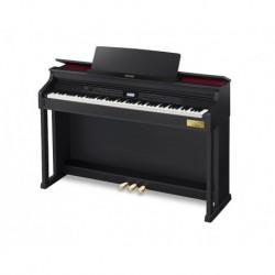 Casio AP-710BK - Piano 88 touches dynamiques finition noire satiné toucher ivoire et ébène avec meuble