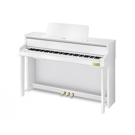 Casio GP-310WE - Piano 88 touches dynamiques finition blanc satiné touches en bois d'épicéa avec meuble