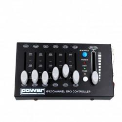 Power Lighting DMX MINISHOW 12C - Console DMX 12 Canaux
