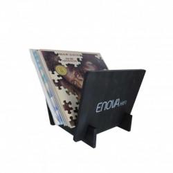 Enova hifi VINYL RANGE 25 BLACK - VR 25 BL - Support Vinyle 25 LP - Finition Noire