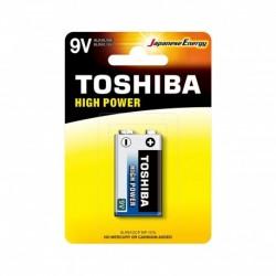 Toshiba 6LR61GCP BP-1 CN - Pile 6LR61 - Pack de 1