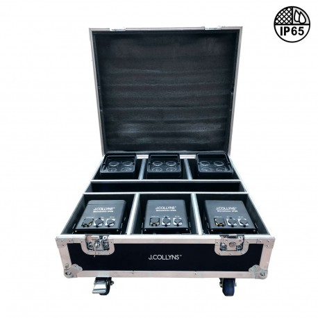 J.Collyns PACK MOVECOLOR IP65 - Pack 6 x Movecolor IP65 + Flight