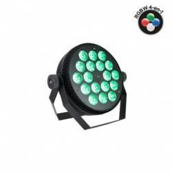 Power Lighting PAR SLIM 18x10W QUAD - Par Slim 18x10W 4-en-1