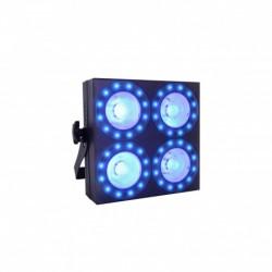 Power Lighting BLINDER 4x30W COB RING - Panneau 4x30W COB avec anneaux