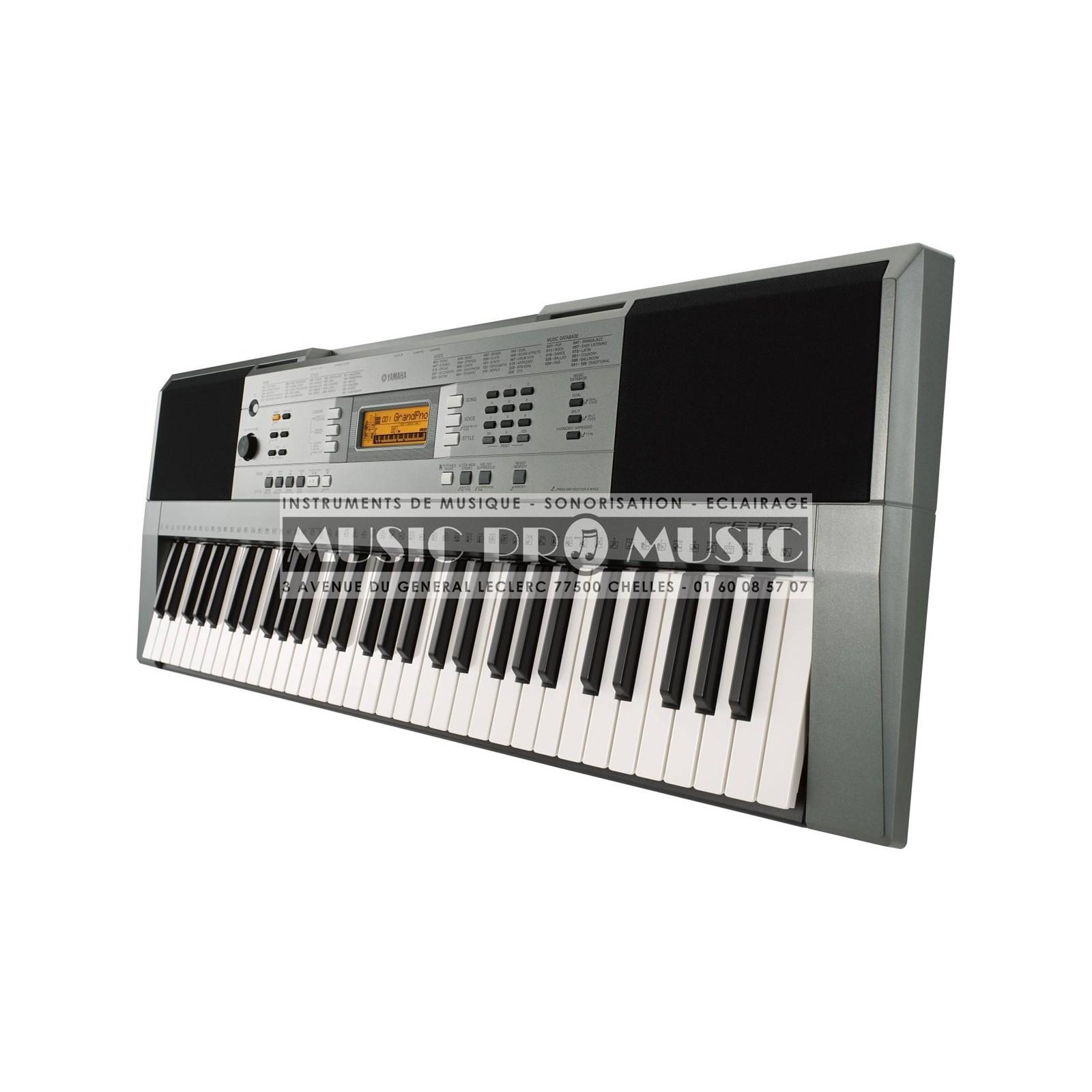 yamaha psr e353 clavier arrangeur 61 notes. Black Bedroom Furniture Sets. Home Design Ideas