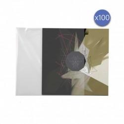 Enova hifi POCHETTE VINYLE 33T - PEV 100 - Protection pochette vinyle 33T