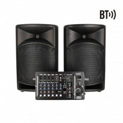 Definitive Audio BACKSTAGE 500 - Système amplifié avec mixer 500W RMS