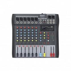 Power Acoustics MX8 USB V2 - Mixeur USB