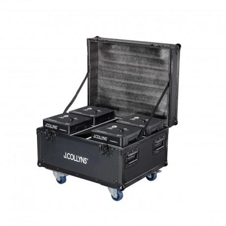 J.Collyns STRAWFIRE XL 4PACK - Pack 4 machines à étincelles XL avec flight