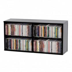 Glorious Dj CD BOX 180 BLACK - Casier de rangement 180 CD finition noir