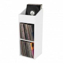 Glorious Dj RECORD BOX 330 WHITE - Casier de rangement 330 vinyles finition blanc