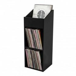 Glorious Dj RECORD BOX 330 BLACK - Casier de rangement 330 vinyles finition noir
