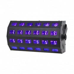 Power Lighting UV PANEL 24X3W CURV - Panneau 24 LEDs UV de 3W