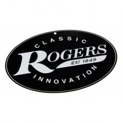 Rogers RA-RMLS - Plaque Publicitaire Métal Rogers 30x20cm