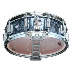 "Rogers 36-BP - Caisse Claire Dyna-Sonic 14"" x 5"" 36-BP Black Pearl - Beavertail"