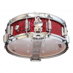 "Rogers 36-RO - Caisse Claire Dyna-Sonic 14"" x 5"" 36-RO Red Onyx - Beavertail"
