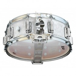 "Rogers 36-WMP - Caisse Claire Dyna-Sonic 14"" x 5"" 36-WMP White Marine Pearl - Beavertail"
