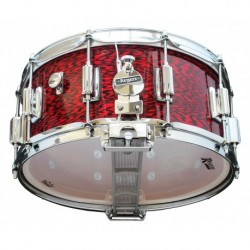 "Rogers 37-RO - Caisse Claire Dyna-Sonic 14"" x 6.5"" 37-RO Red Onyx - Beavertail"