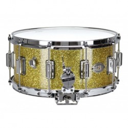 "Rogers 37-GSL - Caisse Claire Dyna-Sonic 14"" x 6.5"" 37-GSL Gold Sparkle - Beavertail"