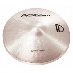"Agean Cymbals CU13HHJA - Hi Hat Jazz 13"" Custom"