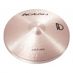 "Agean Cymbals CU14HHJA - Hi Hat Jazz 14"" Custom"