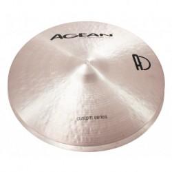 "Agean Cymbals CU14HHRO - Hi Hat Rock 14"" Custom"