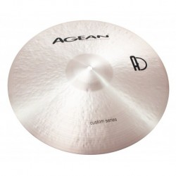 "Agean Cymbals CU16CRPT - Crash Paper Thin 16"" Custom"