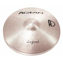 """Agean Cymbals LE13HH - Hi Hat 13"""" Legend"""