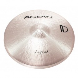 """Agean Cymbals LE14HH - Hi Hat 14"""" Legend"""