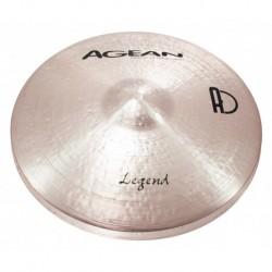 """Agean Cymbals LE14HHRO - Hi Hat Rock 14"""" Legend"""