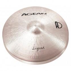 """Agean Cymbals LE15HH - Hi Hat 15"""" Legend"""