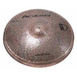 """Agean Cymbals NA14HHJA - Hi Hat Jazz 14"""" Natural"""